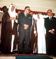 October War, Ksa Saudi Arabia, President Of Egypt, Gamal Abdel Nasser, World Leaders, Bridesmaid Dresses, Wedding Dresses, North Africa, Cairo