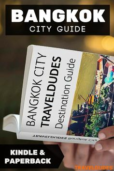 The Travel Dudes Bangkok City Travel Guide Ebook is now available! You can purchase a copy in digital or in print worldwide on the Amazon Prime store. The Bangkok Guidebook is packed full of useful information and includes tips on Thailand Culture, Accommodation, Shopping, Nightlife, Food, Bangkok Attractions, Transportation Tips and much more! Read more about this travel guide: http://www.traveldudes.org/travel-ebooks/travel-dudes-bangkok-city-guidebook-kindle-edition/70343