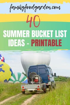 Here are some summer bucket list ideas for the whole family. Summers are fun and should be about trying new things and creating tradition with old favorites. Printable list included! Check it out from this pin. #summer #summerideas #bucketlist #bucketlistideas #summeractivities