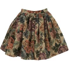 Gathered Skirt By TV** (325 CAD) ❤ liked on Polyvore featuring skirts, mini skirts, bottoms, saias, faldas, women, floral printed skirt, floral print skirt, floral mini skirt and ruched skirts