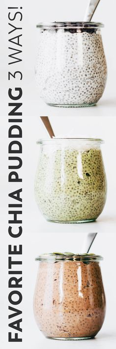 My favorite chia seed pudding recipe with just the right ratio and ingredients for ultra creamy texture – for dessert, breakfast, or a make ahead snack! #vegan #paleo #easyrecipe #breakfast #snack Cooking Light Recipes, Turkey, Salt, Salts, Light Recipes