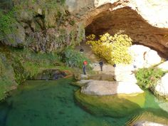 Cueva de las Palomas  Ruta del Agua (Buñol - Cueva del Turche - Charco Mañán - Cueva de las Palomas) Spain Holidays, Green Nature, Andalusia, Seville, Spain Travel, Malaga, Where To Go, Real Madrid, Valencia