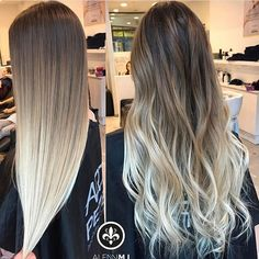Straight or Wavy? @alennmj we are loving both.  DOUBLEtap if you do too.