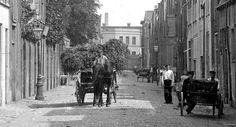 Langestraat Leiden (jaartal: 1900 tot 1910) - Foto's SERC