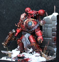 40k World Eaters Chaos Space Marine