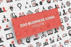 200 Business Icons Graphics Big, beautiful and very detailed icon set of 200 two-colored icons for your business or personal use by Business Icon, Business Photos, Business Brochure, Business Card Logo, Business Illustration, Pencil Illustration, Animated Icons, Custom Icons, Android