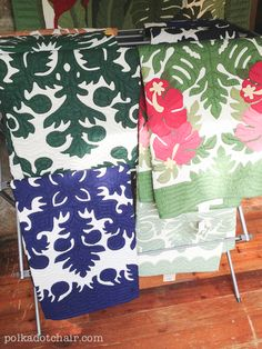 An article written about Hawaiian Quilts and Hawaiian Quilting techniques. Also links to other information about quilting, sources for kits. Hawaiian Quilt Patterns, Hawaiian Pattern, Hawaiian Quilts, Quilting Tutorials, Quilting Designs, Asian Quilts, Polka Dot Chair, Quilts For Sale, Applique Quilts