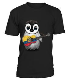# Baby Penguin Playing Ecuadorian Flag Guitar . HOW TO ORDER:1. Select the style and color you want: 2. Click Reserve it now3. Select size and quantity4. Enter shipping and billing information5. Done! Simple as that!TIPS: Buy 2 or more to save shipping cost!This is printable if you purchase only one piece. so dont worry, you will get yours.Guaranteed safe and secure checkout via:Paypal | VISA | MASTERCARD