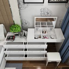 Plats du jour peint commode simple moderne TV armoire coiffeuse chambrette commode évolutive