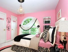 DIY Home Decor Ideas - Cute Pink Wall - Click Pic for 47 Decor Ideas for Girls Rooms