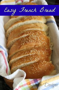 Spindles Designs by Mary & Mags: Easy French Bread