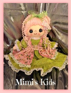 Retro Magical collectors doll by MimiskidsTreasures on Etsy