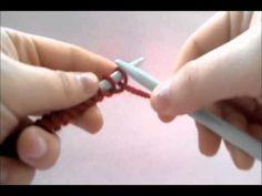 Aprende a tejer: montar puntos, punto del derecho y cerrar los puntos. DIY! - YouTube