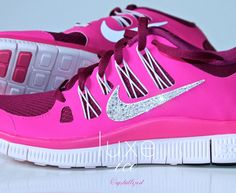NIKE 5.0 Swarovski crystals, yes please. I'd workout in those everyday!