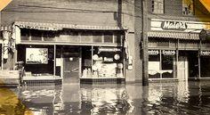 Downtown Cape Girardeau, Flood of 1943