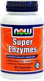 Super Enzymes is a blend of selected digestive enzymes which promote optimum digestive health and function. Containing the natural enzymes papain, pancreatin, ox bile, and bromelain for the metabolism of carbohydrates, fats, and proteins, enzymes may assist with the absorption of vitamins, minerals, and other nutrients. - See more at: http://www.tasmanhealth.co.nz/now-foods-super-enzymes/