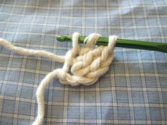 crocheting without a foundation chain....interesting.