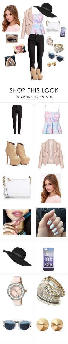 """""""Styled my best creation"""" by omgantonia on Polyvore featuring Zizzi, Michael Kors, Lulu*s, Topshop, Ted Baker, Miss Selfridge, Christian Dior, Eddie Borgo, women's clothing and women"""