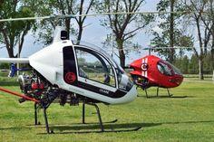 Helicopter graphics.  Cicaré 7T - Cicaré 8