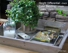 "Hometalk | How To Style A Tray Using My ""Super Secret Styling System"" Shhh..."