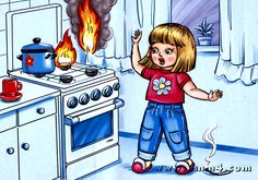 Preschool Education, Teaching Kids, Daily Schedule Preschool, Kindergarten Rules, Safety Pictures, Fireman Party, Picture Composition, Safety Rules, Human Drawing