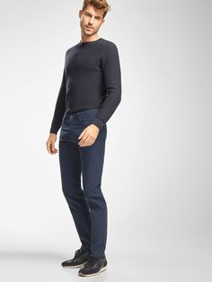 Autumn winter 2016 Men´s CASUAL FIT FIVE-POCKET OTTOMAN TROUSERS at Massimo Dutti for 49.5. Effortless elegance!