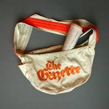 Bilderesultat for paper boy bag
