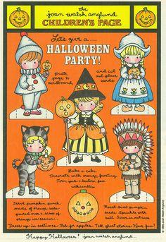 """Halloween Dolls"" by Joan Walsh Anglund"
