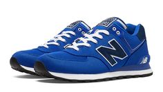 New Balance 574 Pique Polo Pack: Blue/Navy