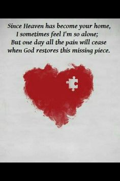 Missing 3 people who loved me most... i will always feel incomplete...