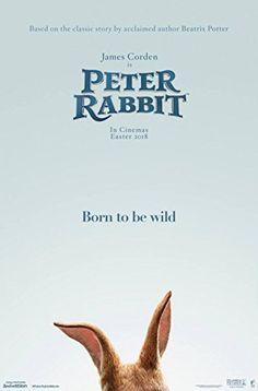 """Peter Rabbit - Authentic Original 27"""" x 40"""" Movie Poster"""