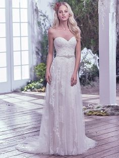 Bailey Wedding Dress by Maggie Sottero New York Bride & Co Syracuse NY