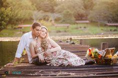 blog de casamento - uma vez noiva sempre noiva - e-session - ensaio de noivos - ensaio - coroa de flores - piquenique