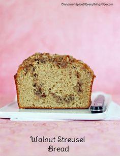 Apple Streusel Coffee Bread | Cook Fearlessly: Bread | Pinterest ...