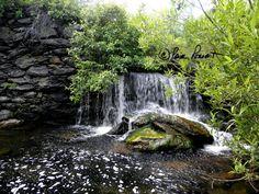 PEACEFUL Art Waterfall Photo Greetings & Note by PamsFabPhotos $3.50