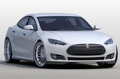 Revozport offers carbon customization kits for souped-up Tesla Model S sedans.