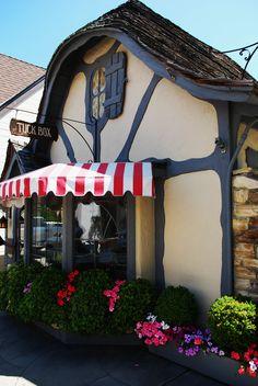 Love Carmel! The Tuck Box Tea Cottage in Carmel, California.