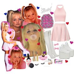"lolita-scarlet-starlet: "" Baby Spice by lolitadelrey "" Pun Costumes, Girl Group Halloween Costumes, Halloween Costume Contest, Halloween Outfits, Girl Costumes, Mermaid Costumes, Couple Costumes, Couple Halloween, Adult Costumes"
