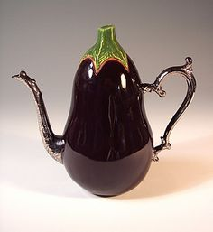 VEGETABLE TEAPOTS Eggplant