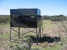 Wildside Camo Siding Elevated Hunting Blind Camo Siding