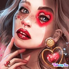 Color Magic, Anime Outfits, Free Illustrations, Photo Illustration, Photo Library, Eyelashes, Halloween Face Makeup, Make Up, Stock Photos