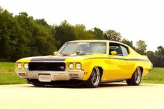 """americanmusclepower: """" Some of the greatest yellow muscle cars ! 1972 Chevrolet Chevelle 1970 Buick GSX 1971 Plymouth Barracuda 1970 F. Chevrolet Chevelle, Pontiac Gto, Chevy, Buick Gsx, Old School Muscle Cars, Buick Envision, Automobile, Buick Cars, 1970 Ford Mustang"""