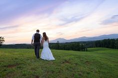 bride and groom sunset pictures flash