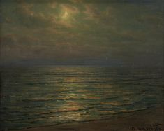 Art Students League, Woodstock, View Image, Moonlight, Im Not Perfect, Auction, Painting, Brother, Oil