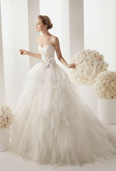 vestido de novia Rosa Clara,  wedding dress