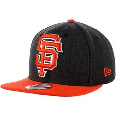 sale retailer a47eb 112be New Era San Francisco Giants Black Logo Grand 9FIFTY Adjustable ... Sf  Giants Hat
