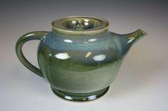 Handmade Ceramic Teapot Stoneware Teapot by GibsonPottery on Etsy, $80.00