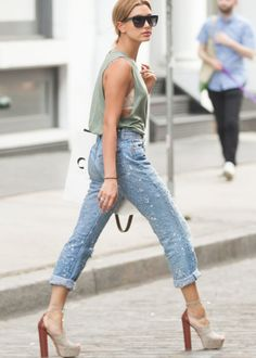Pinterest @esib123 #style #fashion #inspo Hailey Baldwin style