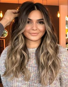 Adorable Balayage Hair Color for Long Hairstyles