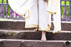 #OOTD Wearing a Traditional #Indian Anarkali with Sharara Pants by #FashionDesigner Indu Abbot. Shot at #Pune Shaniwar Wada for a #Mughal #Historical Feeling.
